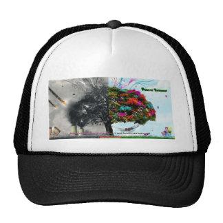 beauty and destruction trucker hat