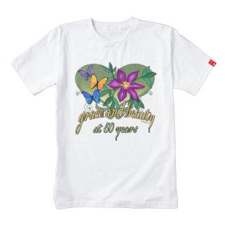 Beauty and Grace 50th Birthday Zazzle HEART T-Shirt