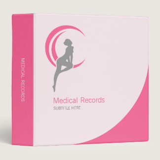 Beauty and Health Medical Binder
