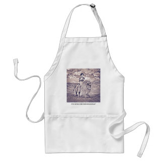 Beauty and Lion Adult Apron