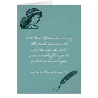 Beauty and Looks Quote Greeting Card