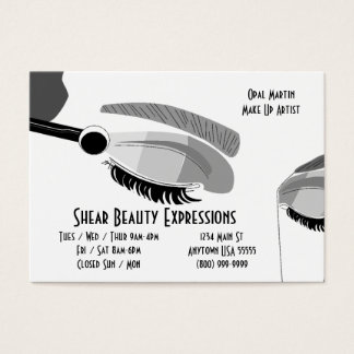 Beauty And Make Up Business Card