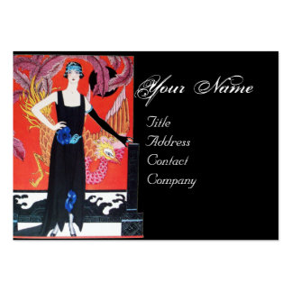 BEAUTY AND PHOENIX,FASHION DESIGNER MAKE UP ARTIST LARGE BUSINESS CARDS (Pack OF 100)