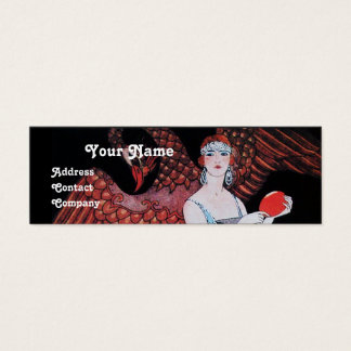 BEAUTY AND PHOENIX,FASHION DESIGNER MAKE UP ARTIST MINI BUSINESS CARD