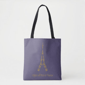 Beauty and the Beast | After All This Is France Tote Bag