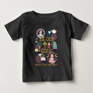Beauty And The Beast | Be Our Guest Baby T-Shirt