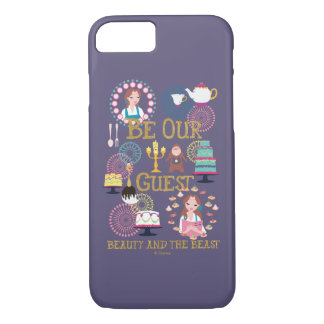 Beauty And The Beast | Be Our Guest iPhone 8/7 Case