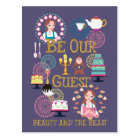 Beauty And The Beast | Be Our Guest Postcard