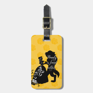Beauty And The Beast | Beauty is Found Within Bag Tag