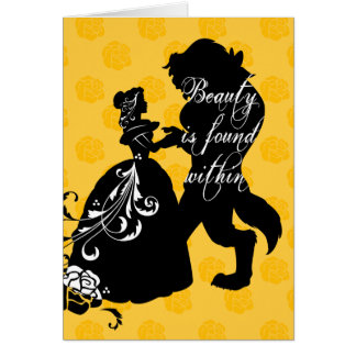 Beauty And The Beast | Beauty is Found Within Card