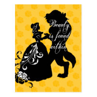 Beauty And The Beast | Beauty is Found Within Postcard