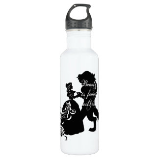 Beauty And The Beast | Beauty is Found Within Stainless Steel Water Bottle