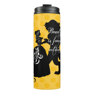Beauty And The Beast   Beauty is Found Within Thermal Tumbler