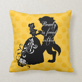 Beauty And The Beast   Beauty is Found Within Throw Pillow