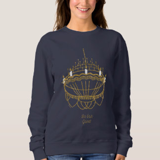 Beauty and the Beast | Chandelier - Be Our Guest Sweatshirt