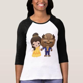 Beauty and the Beast Emoji 2 T-Shirt