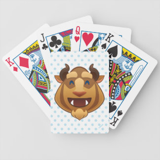 Beauty and the Beast Emoji | Beast Bicycle Playing Cards