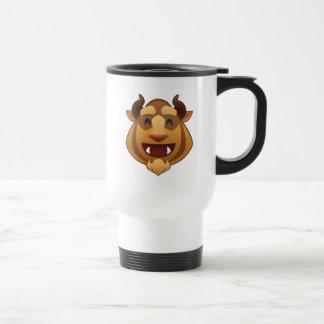 Beauty and the Beast Emoji   Beast Travel Mug