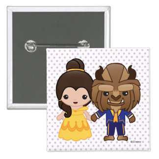 Beauty and the Beast Emoji Button