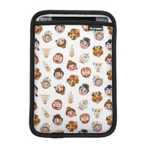 Beauty and the Beast Emoji | Character Pattern iPad Mini Sleeve