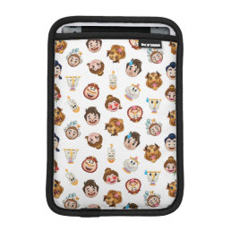 Beauty and the Beast Emoji   Character Pattern iPad Mini Sleeve