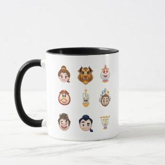Beauty and the Beast Emoji   Characters Mug