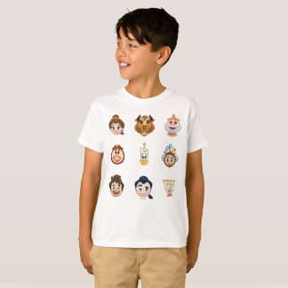 Beauty and the Beast Emoji | Characters T-Shirt