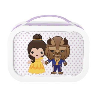 Beauty And The Beast Emoji Lunch Box at Zazzle