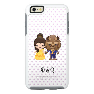 Beauty and the Beast Emoji OtterBox iPhone 6/6s Plus Case