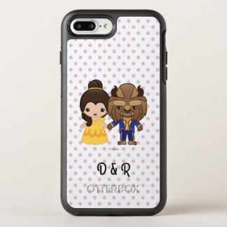 Beauty and the Beast Emoji OtterBox Symmetry iPhone 7 Plus Case
