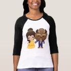 Beauty and the Beast Emoji T-Shirt