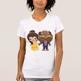 Disney T-Shirt - Beauty and the Beast Emoji T-Shirt