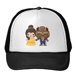 Beauty and the Beast Emoji Trucker Hat