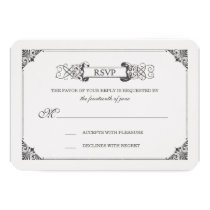 Beauty and the Beast | Fairy Tale - RSVP Card
