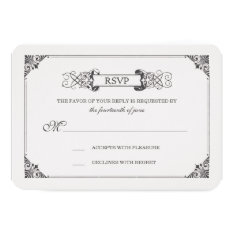 Beauty And The Beast   Fairy Tale - Rsvp Card at Zazzle