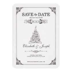 Beauty and the Beast | Fairy Tale - Save the Date Card