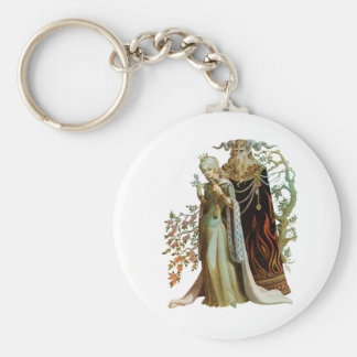 Beauty and the Beast Keychain