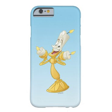 Disney Themed Beauty And The Beast | Lumière Barely There iPhone 6 Case