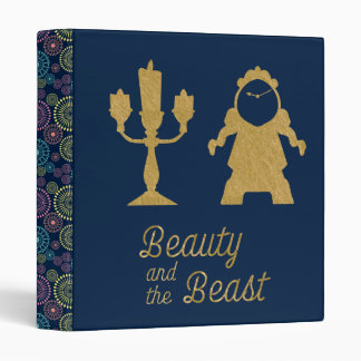Beauty And The Beast | Lumiere & Cogsworth Binder