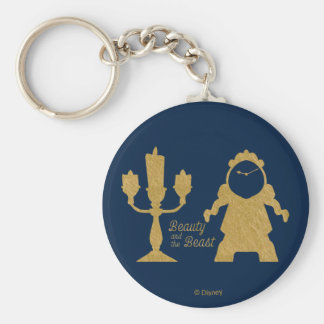 Beauty And The Beast | Lumiere & Cogsworth Keychain