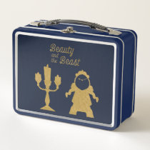 Beauty And The Beast | Lumiere & Cogsworth Metal Lunch Box