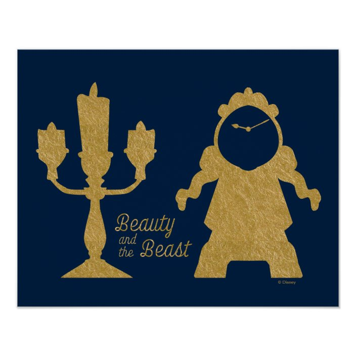 Lumiere Cogsworth Beauty And The Beast