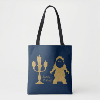 Beauty And The Beast | Lumiere & Cogsworth Tote Bag