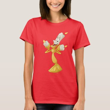 Disney Themed Beauty And The Beast | Lumière T-Shirt