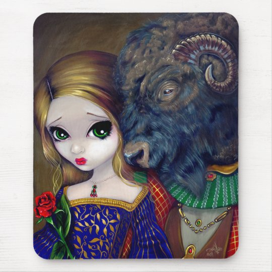 """Beauty and the Beast"" Mousepad"