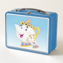 Beauty And The Beast | Mrs. Potts And Chip Metal Lunch Box