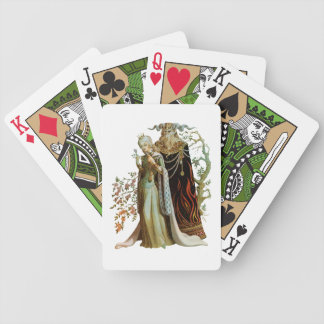 Beauty and the Beast Playing Cards