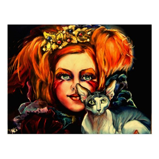 Beauty and the Beast Postcard