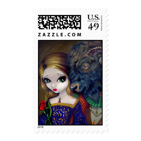 """Beauty and the Beast"" Stamp"