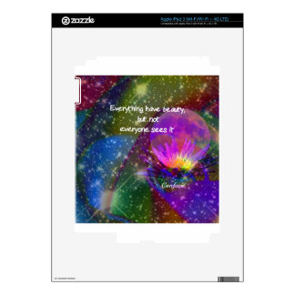 Beauty and universe skin for iPad 3